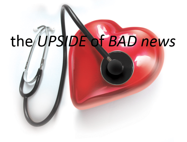 The Upside of Bad News